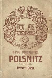 3 E. Promnitz - Polsnitz bei Canth 1228-1928 Breslau - 1928.