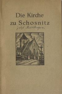 5 H.Hoffman - Die Kirche zu Schosnitz Breslau - 1935